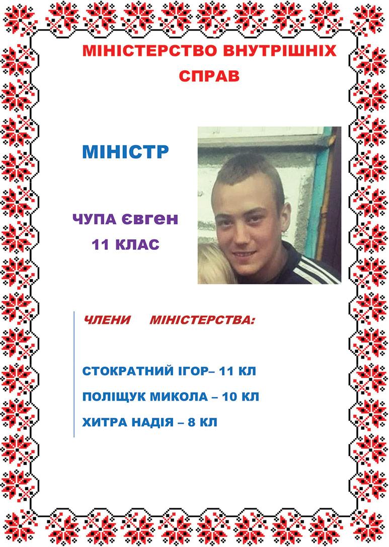Міністр Волощук Д.